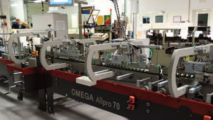 Investing in Quality; Neograf from Croatia invested in Omega Allpro 70 with Braille to grow their export business.