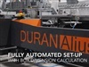 New Video - Intelligent fully automated set-up from carton drawing on Duran Alius 110