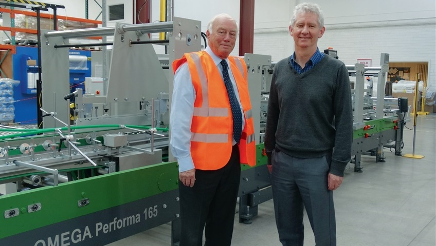 Omega Performa for Ireland Atlas Packaging
