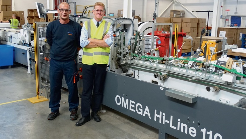 Westrock Installs Another High Spec Omega Folder Gluer